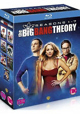 Big Bang Theory- Season 1-7- Complete (Blu-ray) 21-Disc, Kaley Cuoco, J Parsons