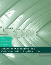Finite Mathematics and Calculus with Applications (8th Edition)