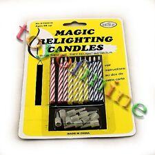 Charming Partei Magic Set - Zauber neuzündende Kerzen für Geburtstag Fun