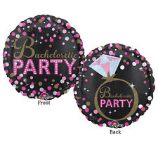 BACHELORETTE Party Wedding Special Occasion Balloons Decorations Supplies 18 in