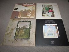 LED ZEPPELIN - COLLECTION OF LED ZEPPELIN RECORDS LOT OF 4 LPS