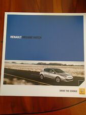 Renault Megane Hatch brochure Aug 2011 Irish market