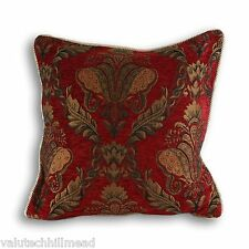 Riva Home Shiraz Cushion Cover, Burgundy, 45 x 45cm