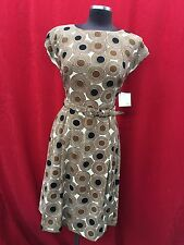 ANNE KLEIN DRESS/SIZE 6/LINED/RETAIL$149/LENGTH 40'/MACYS DRESS/SMOKE FREE