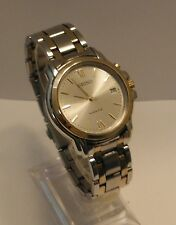 Men's Seiko Kinetic 2-Tone Bracelet Date/Watch 5M62-0B20