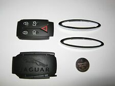 Genuine Jaguar XF and XK Key Fob Repair Kit, back cover, pad, chrome, battery