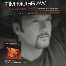 TIM MCGRAW GREATEST HITS Radio Special CD New Sealed