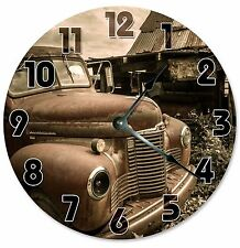 "VINTAGE RETRO CAR Clock - Large 10.5"" Wall Clock - 2125"