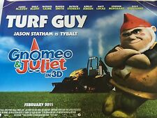 Gnomeo And Juliet Original Uk Quad Poster