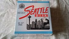 """Floppy Disk 3.5"""" Seattle Disks 2.44MB, DS ED Double Side, Extra Density NOS"""