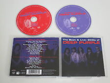 DEEP PURPLE/THE BEST & LIVE(BMG 82876 60046 2) 2XCD ALBUM