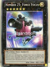 Yu-Gi-Oh - 1x Number 25: Force Focus - SP14 - Starfoil - Star Pack 2014