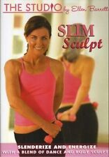 THE STUDIO BY ELLEN BARRETT SLIM SCULPT  DVD NEW FITNESS EXERCISE WORKOUT SEALED