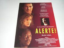 AFFICHE PROMO VIDEO CLUB--ALERTE--HOFFMAN/RUSSO/FREEMAN/PETERSEN