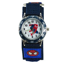 NEW Spiderman Watch Fast Wrap Velcro Strap Boy/Girl Children Birthday Gift watch