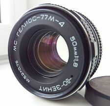 USSR MC HELIOS 77M-4 50mm f1,8 lens M42 mount Zeiss Biotar