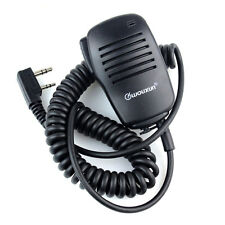 PTT Handheld Mikrofone Speaker Mic for Kenwood KPG/TH/TK WOUXUN Baofeng HYT