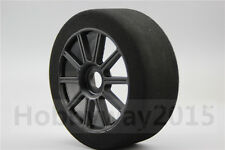 Pre-Glued 4pcs 1/8 Foam Tire Tyre 10 Spoke fits for 1:8 Racing Car 1:8 GT XO-1