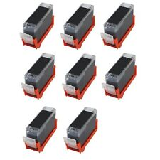 8 PK BLACK Ink Replacement for PGI-220PGBK Canon MP620 MP640 MX860 MX870