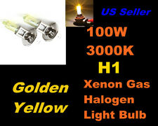 Golden Yellow Xenon 100w Bulb- Volvo 99-06 S80/ 98-06 V70 Fog Light H1
