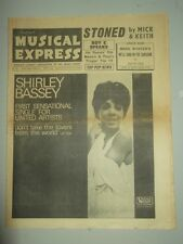 NME #1011 MAY 27 1966 JIM REEVES MARK WYNTER SHIRLEY BASSEY MICK JAGGER ROY C