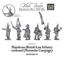 Black Powder Napoleonic British Line Infantry Command Peninsular war Warlord new