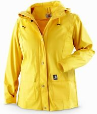 Carhartt Women's Medford Rain Jacket - Medium / Yellow - Sunglow
