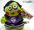 Zombiology Girl Ganz Plush Toy Stuffed Doll Purple Green Zombie Soft BNWT