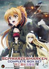 DVD Japan Anime SCHWARZESMARKEN Complete TV Series (1-12 End) English Subtitle