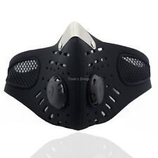 Motorcycle Anti-pollution Face Mask Sport Mouth-muffle Dustproof With Filter