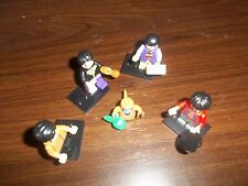 THE BEATLES MINI FIGURES SIMILAR TO THE LEGO YELLOW SUBMARINE BOX SET ONES FAB!