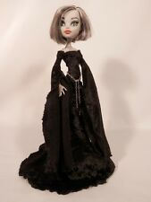 Clothes Outfit For Your Monster High Doll-MHD-Black Medieval