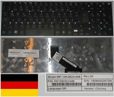 Clavier Qwertz Allemand GATEWAY NV55 MP-10K36D0-698 PK130HQ1A09 Noir