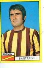 CALCIO FIGURINA CALCIATORI  EDIS  1971-72   SANTARINI  ROMA     NUOVA CON VELINA