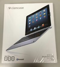 BRAND NEW! ClamCase PRO Keyboard Case for iPad 2,3, and 4 (Aluminum/White)