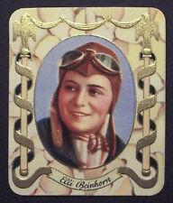 Elli Beinhorn 1934 Garbaty Film Star Series 1 Embossed Cigarette Card #214