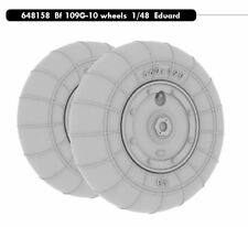Eduard Brassin 1/48 Messerschmitt Bf 109G-10 Wheels for Eduard kit  # 648158