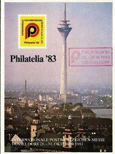 Vignette PHILATELIA 83 Düsseldorf