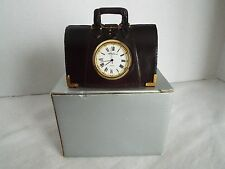 Rare NIB Seth Thomas Clock -  Metal Attache Briefcase -  #460