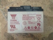 YUASA Rechargeable lead battery NP24-12I Vds 12V 24Ah/288Wh Lead-Acid