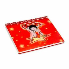 "Lenticular Betty Boop Spiral Bound Star Red Notebook 4""x6"" 144 Pages #BB-203-NB#"