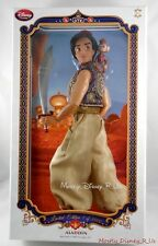 "New Disney Store Exclusive Limited-Edition 17"" Deluxe Aladdin & Abu Doll LE 3500"