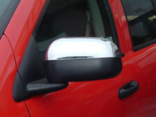 DODGE DAKOTA 2005-2010/DURANGO 2004-2009 TFP CHROME ABS  MIRROR COVER - FOLDING