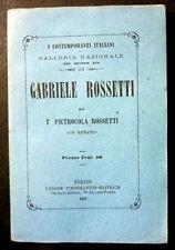 Biografia Contemporanei Italiani Gabriele Rossetti 1861