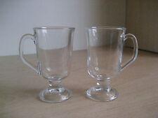 Conjunto de 2 vasos de café irlandés Latte Macchiato tazas tazas de chocolate té Cappucino