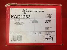 APEC FRONT BRAKE PADS TO SUIT BMW 3 5 6 7 SERIES AND M3 PAD1263 03-13
