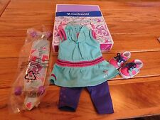 AMERICAN GIRL MYAG SKATEBOARDING SET NEW IN BOX FREE SHIPPING