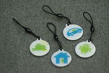 4 x NFC Tag mit MIFARE Classic® Chip - 1k Schlüsselanhänger - 4 x Android keyfob
