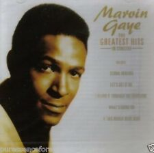 MARVIN GAYE - The Greatest Hits In Concert (UK 17 Tk CD Album) (Sld)