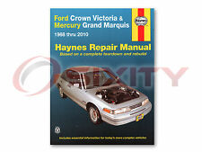 Ford Crown Victoria Haynes Repair Manual Special Edition Base LX Sport LWB li